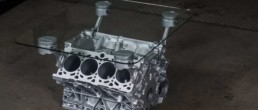 scrapUPdesign Tisch aus Motor